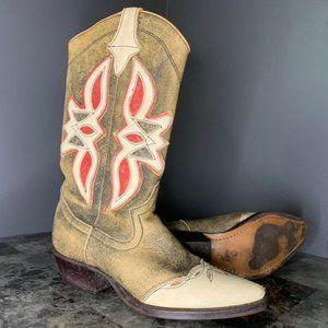 RARE Vintage Nine West Cowboy Boot Size 8M